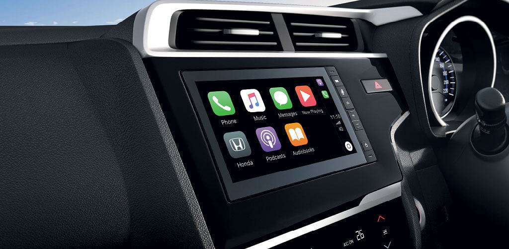 The new 7-inch touchscreen incorporates Apple CarPlay and Android Auto