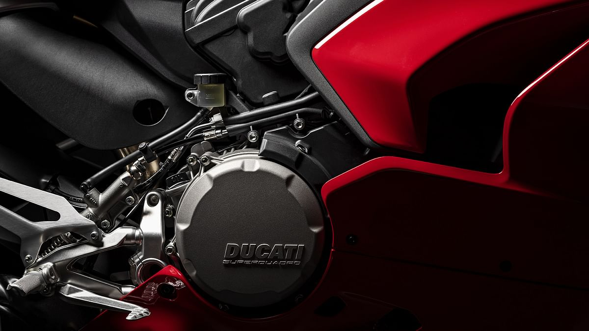 The 955cc L-twin has been reworked