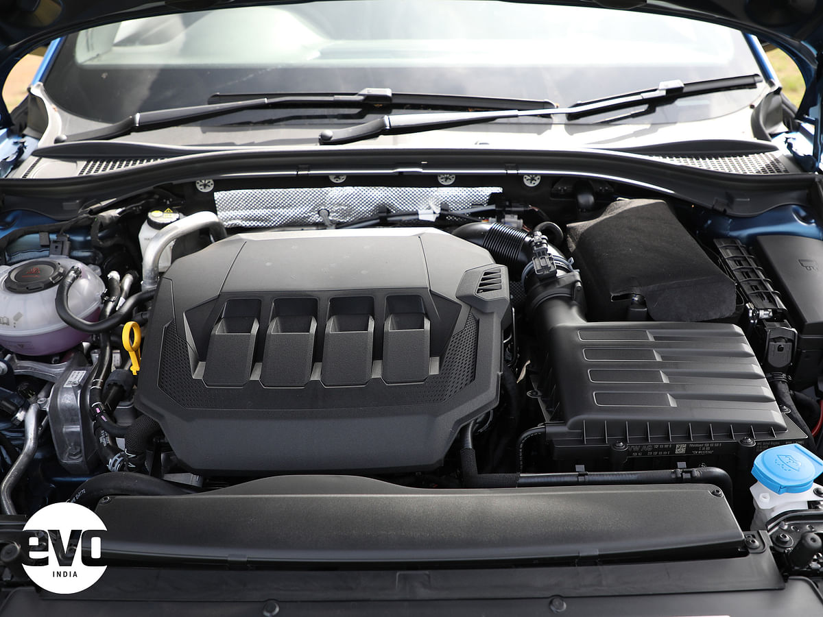 Powerful 2-litre TSI engine