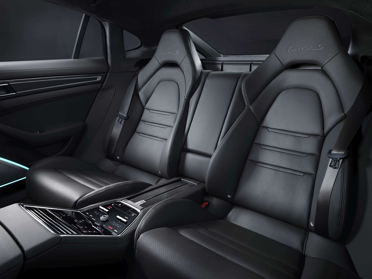 Turbo S embossing on the seats will probably be imprinted on your head