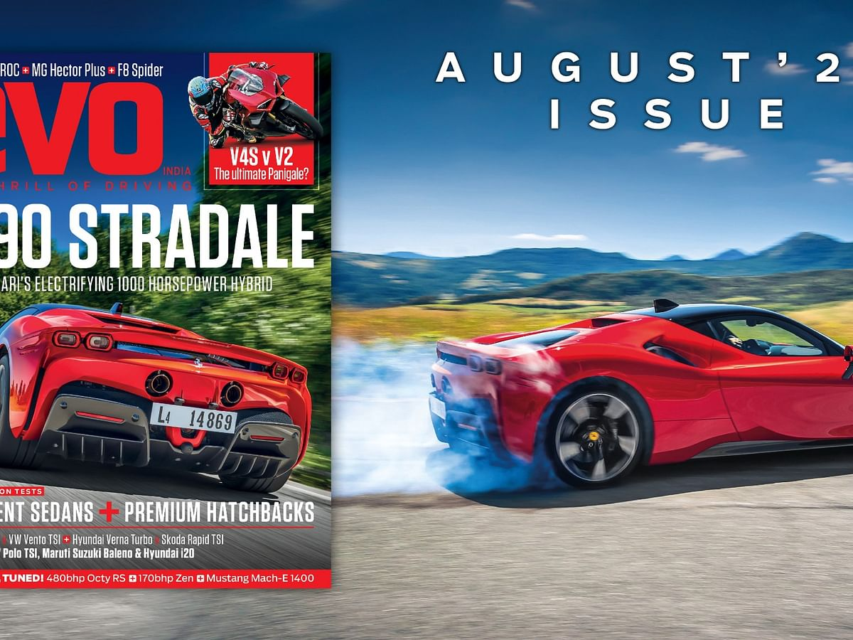 Ferrari's 1000 horsepower SF90 Stradale headlines August 2020 issue of evo India