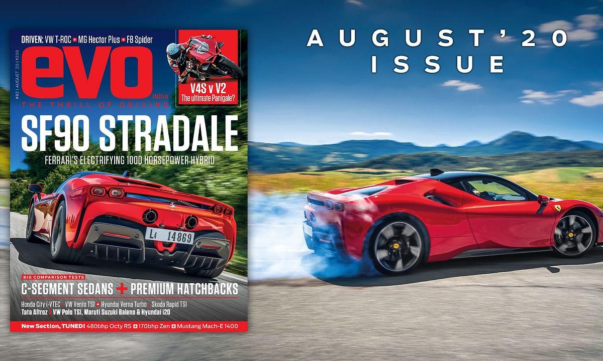 Ferrari's 1000 horsepower SF90 Stradale headlines August 2020 issue of evo India