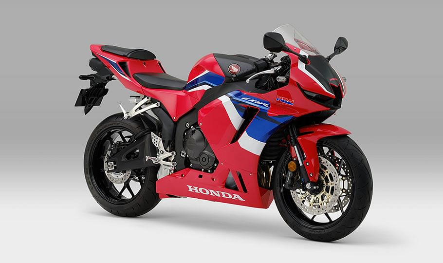 The revised styling on the new CBR600RR