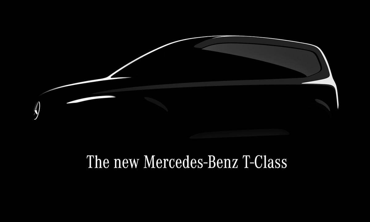Mercedes-Benz teases the upcoming T-Class MPV