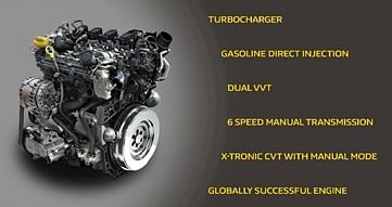 The all new 1.3-litre TCe engine