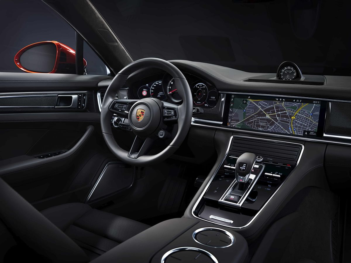 Interior layout is the same, but gets more technology