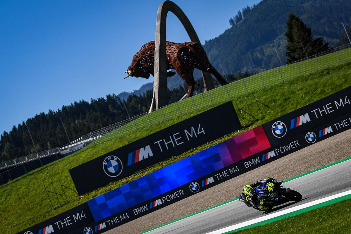 The Red Bull Ring in Austria, where the Styria GP will be held this Sunday