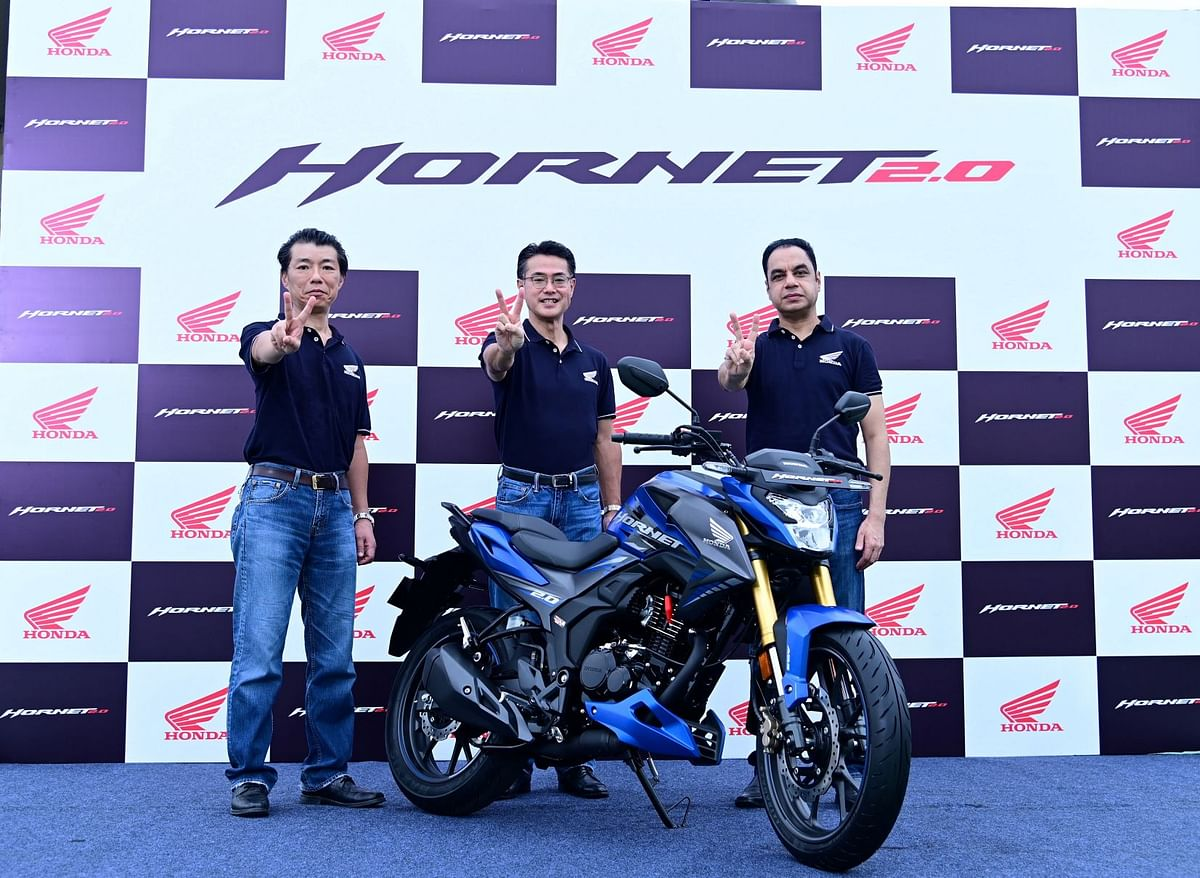 The Hornet 2.0 at the India launch