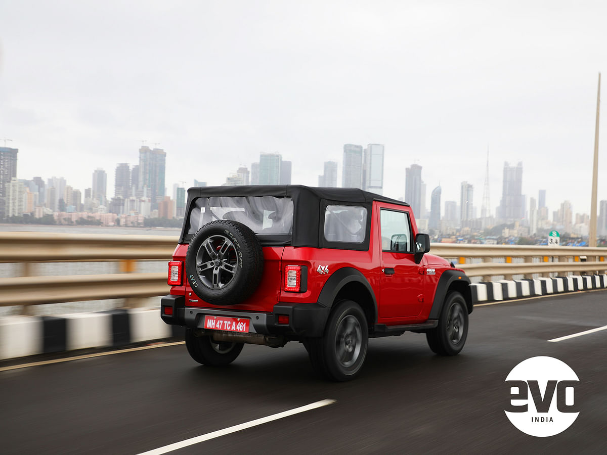 The shape is instantly recognisable but the Thar has been updated to look modern
