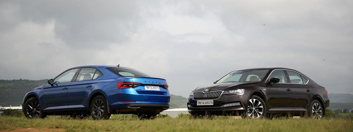 Sportline and L&K variants of 2020 Skoda Superb facelift