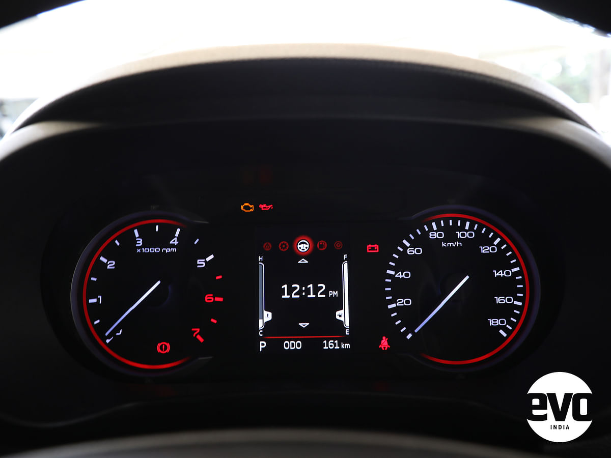 New instrument cluster looks properly modern