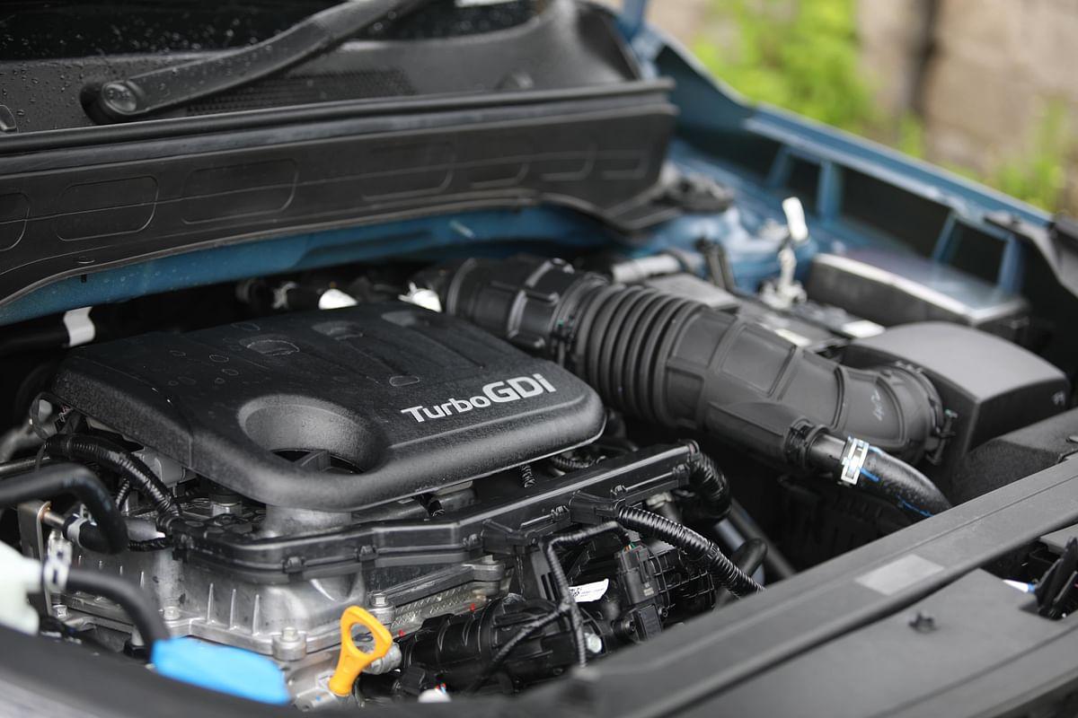 Punchy turbo-petrol engine