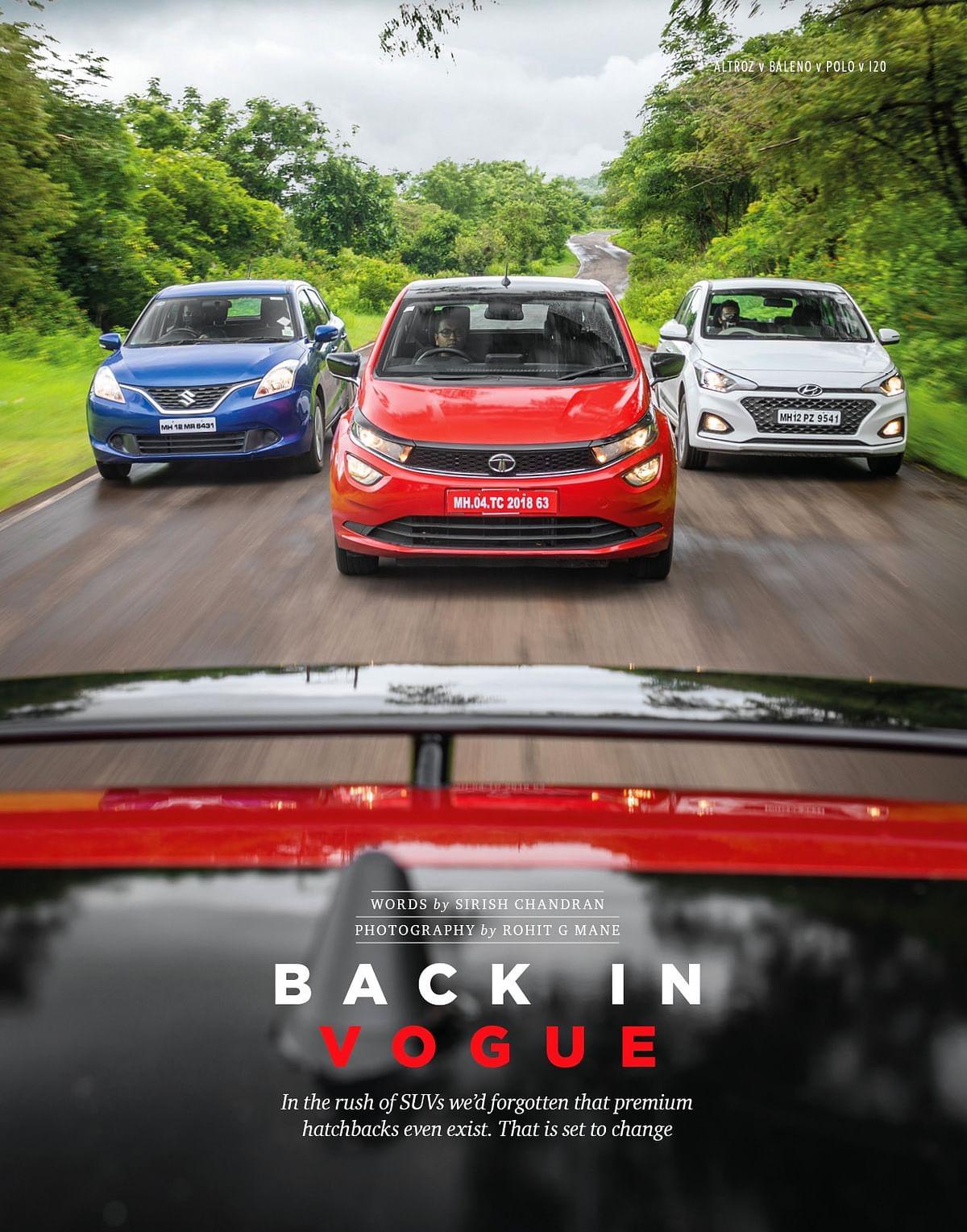 Tata Altroz pitted against the VW Polo, Maruti Suzuki Baleno and Hyundai i20