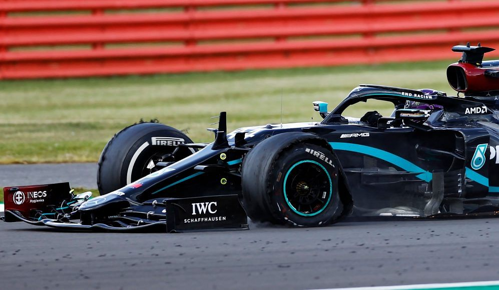 Hamilton scrapes through to bag the win at Silverstone