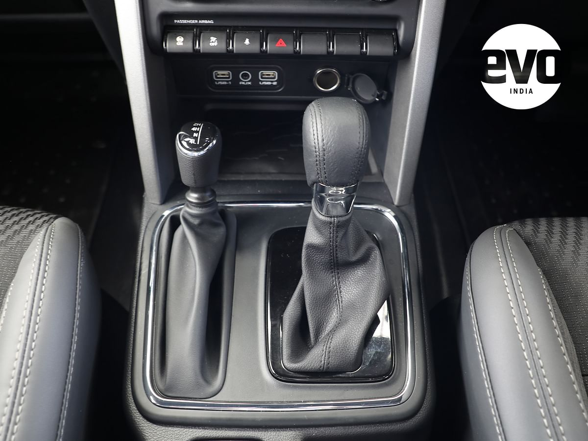 An automatic gearbox is on offer on both petrol and diesel engines