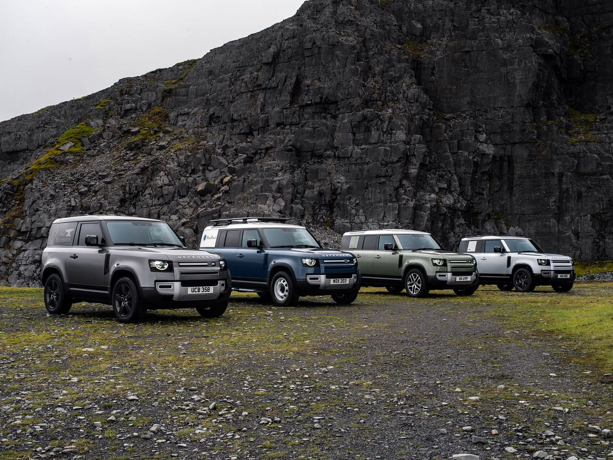 The MY2021 Land Rover Defender family