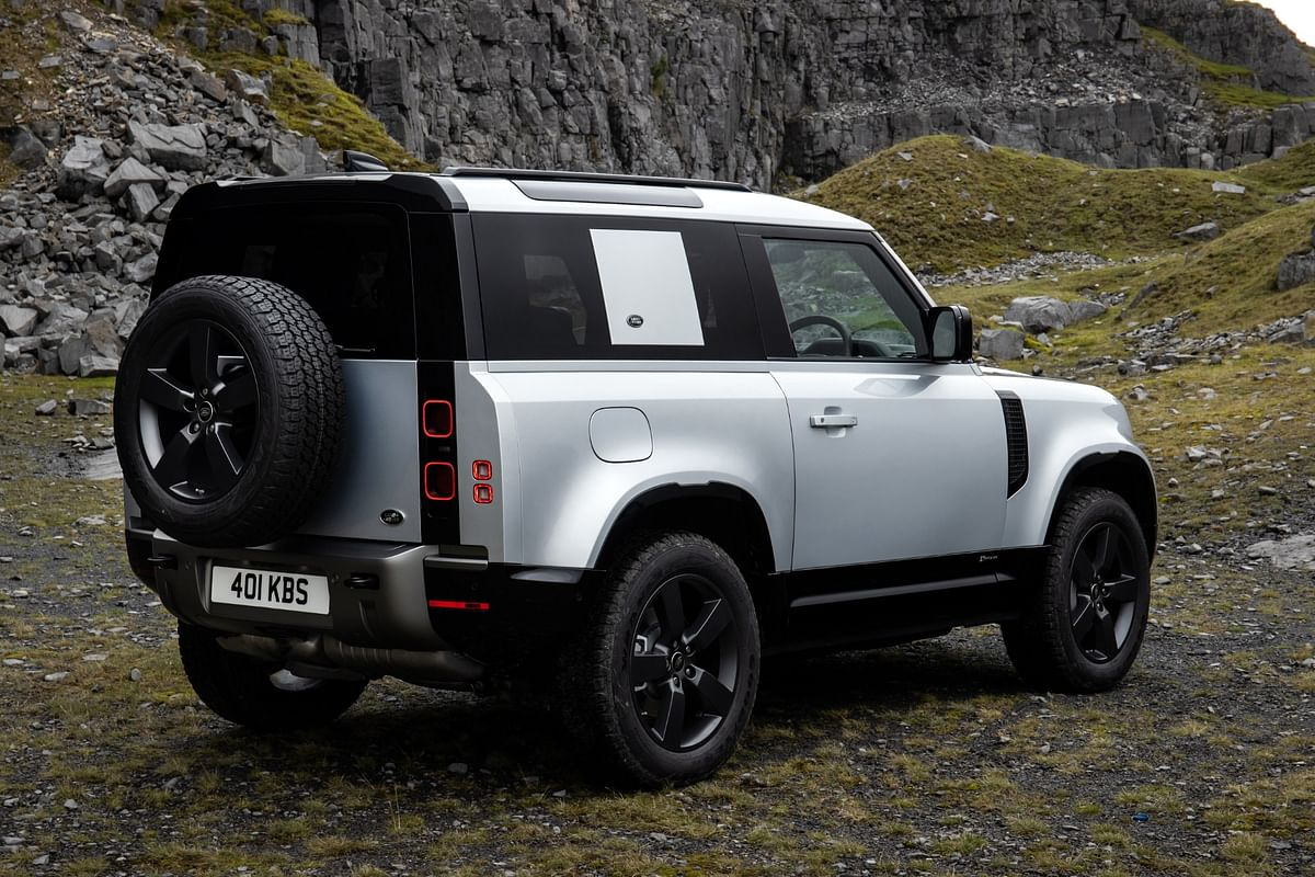 Subtle visual cues differentiate X-Dynamic the others of the Defender lineup