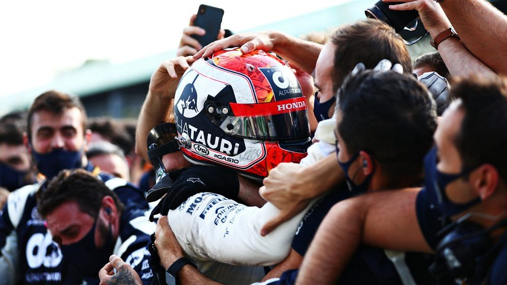 Gasly bags first ever F1 win at Italian Grand Prix
