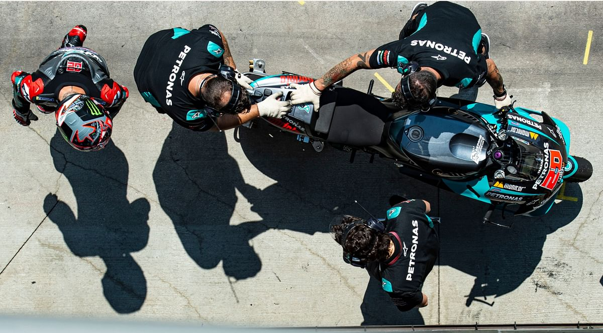 Fabio's determination (and success) is quite the testament for the relatively new Petronas Yamaha SRT MotoGP team