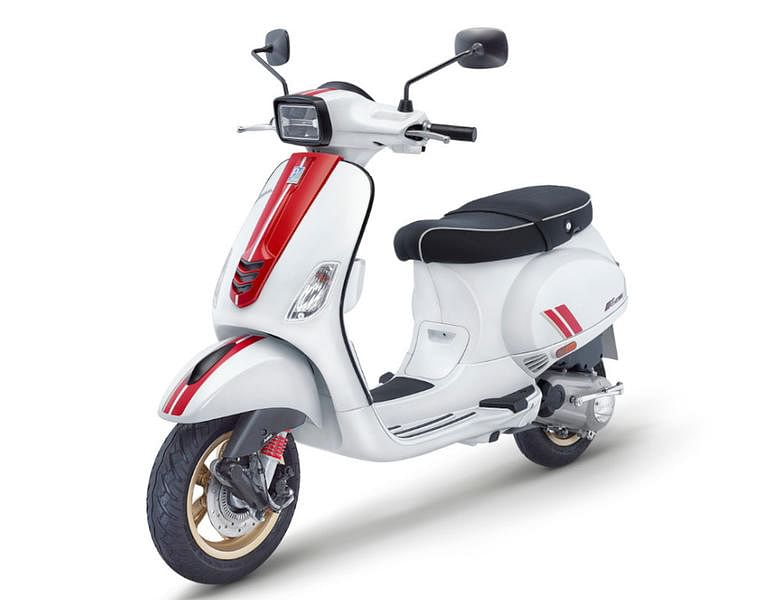 Italian flair, thy name is Vespa