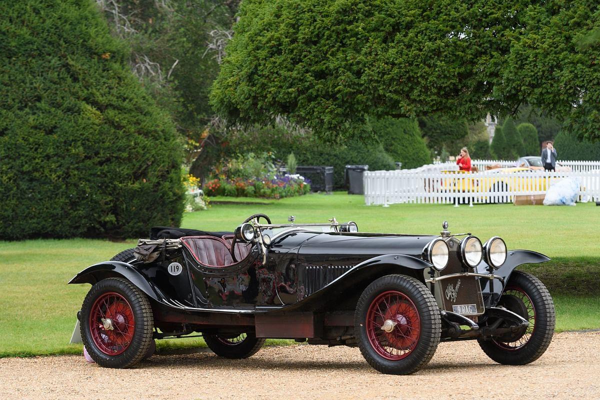 This Alfa Romeo 6C 1750 scored the Mille Miglia win in the 1920s