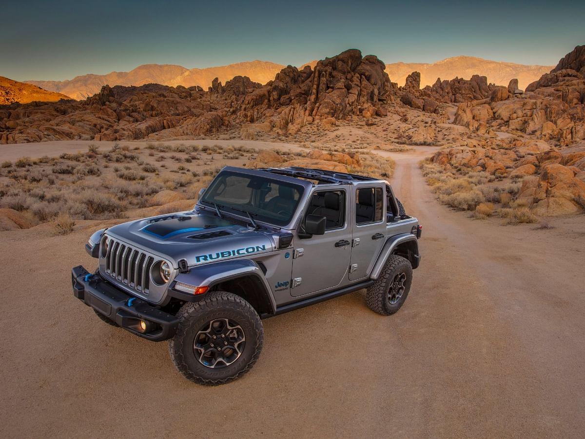Jeep reveals the Wrangler 4xe