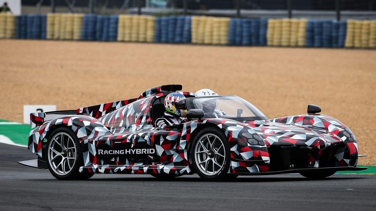 Toyota's future super sports car