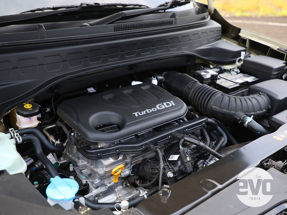 The turbo-petrol engine comes mated to the iMT and DCT, and doesn't get the option of a manual