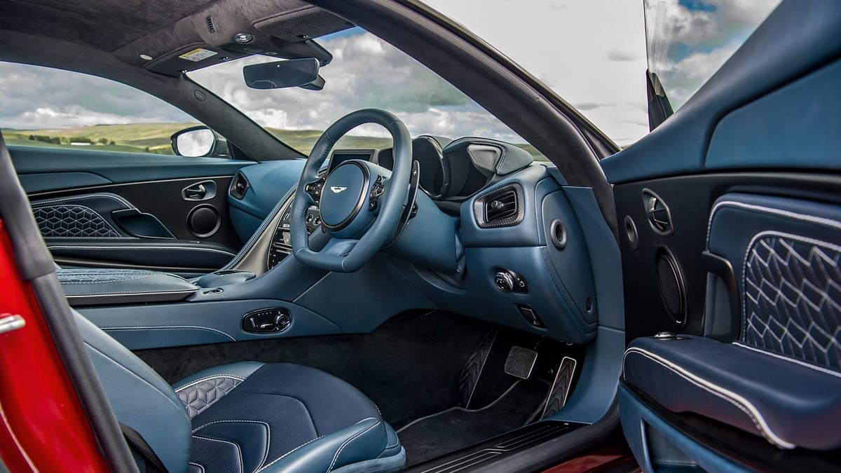 Exquisite interiors to go with ludicrous performance