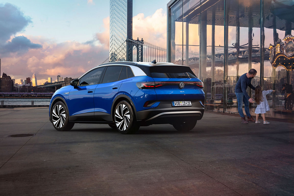 The fully electric SUV takes exterior styling cues from the ID.3