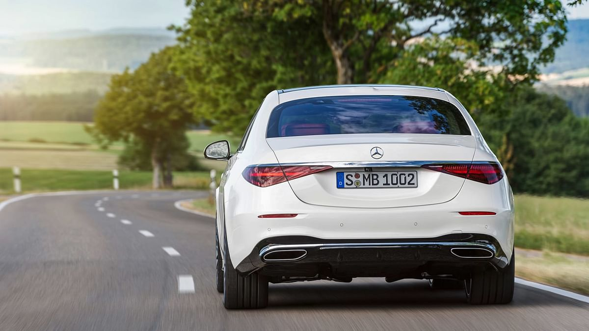New taillights are in line with new-gen Mercedes models