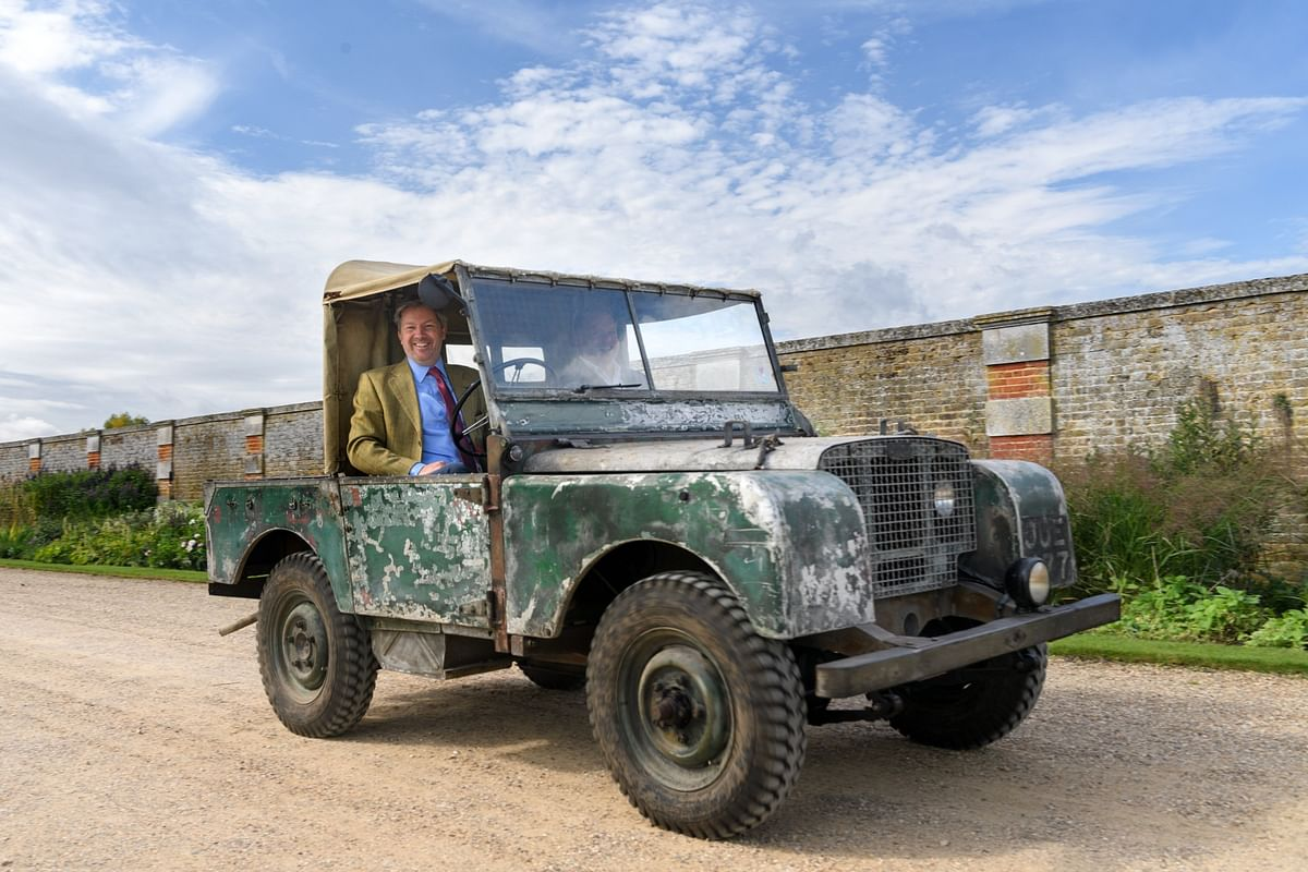 Before uber-luxurious SUVs were a thing, there was the 1940 Land Rover Model 80 No.1