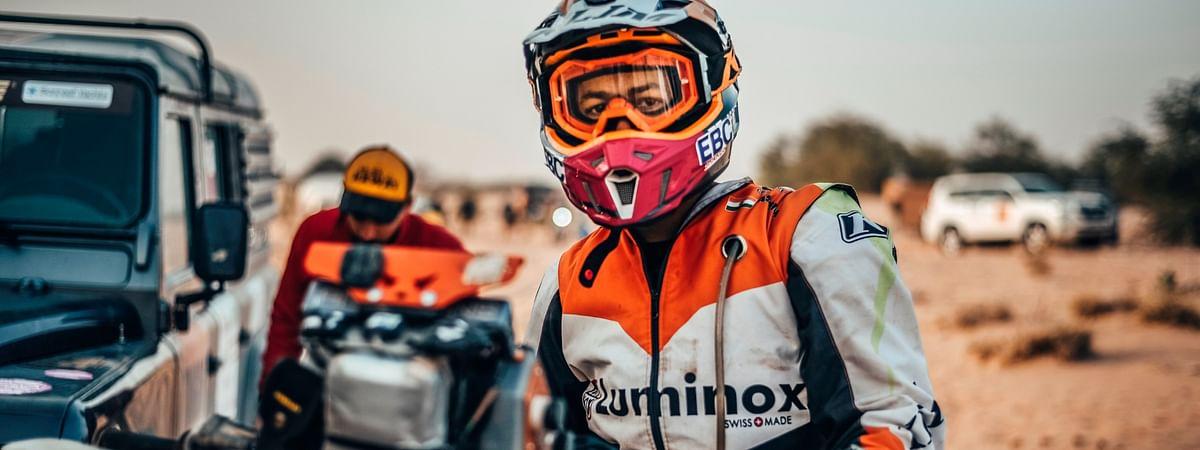 Ashish Raorane at the 2020 Africa Eco Race