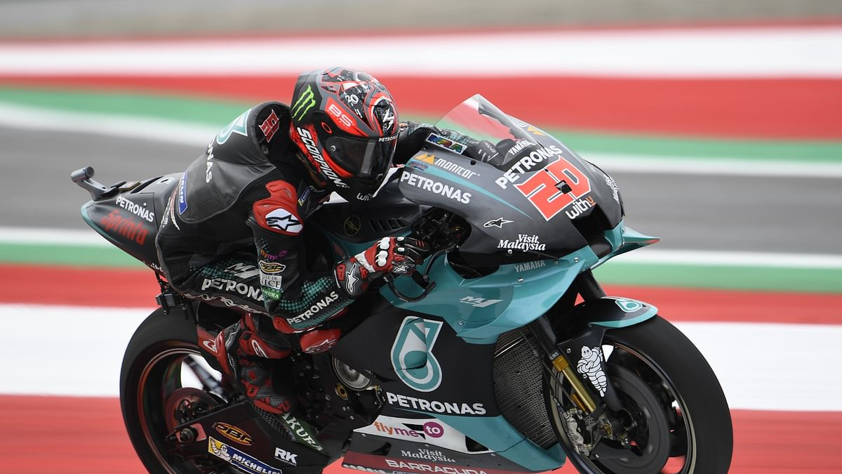 Quartararo is currently at the top of the MotoGP championship standings