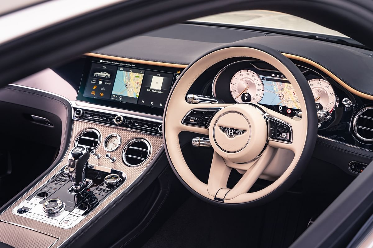 The command centre which oozes both luxury and power