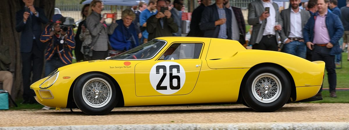 This 250 LM was just one of a whole host of rare racing Ferraris at Concours of Elegance 2020