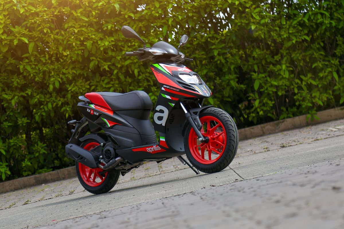 Aprilia SR 160 is a hoot to ride
