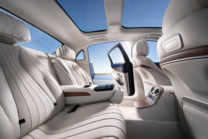 S-Class who? The rear seats of the E-Class LWB is the place to be!