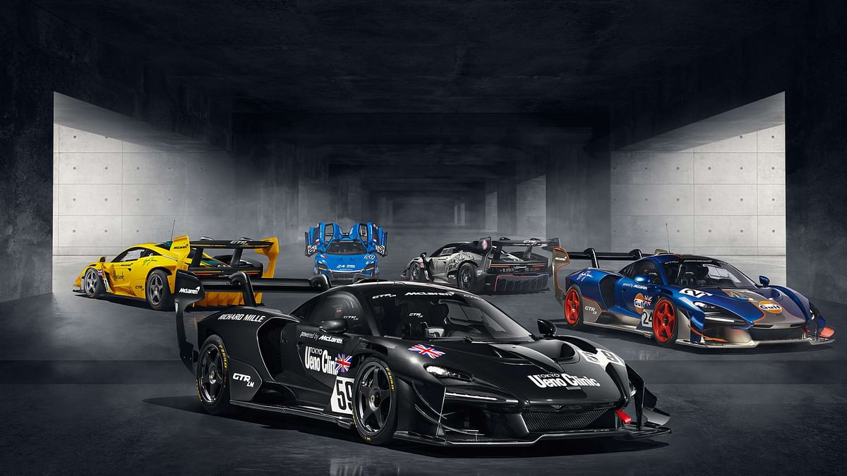 Five McLaren Senna GTR LMs in Le Mans liveries revealed