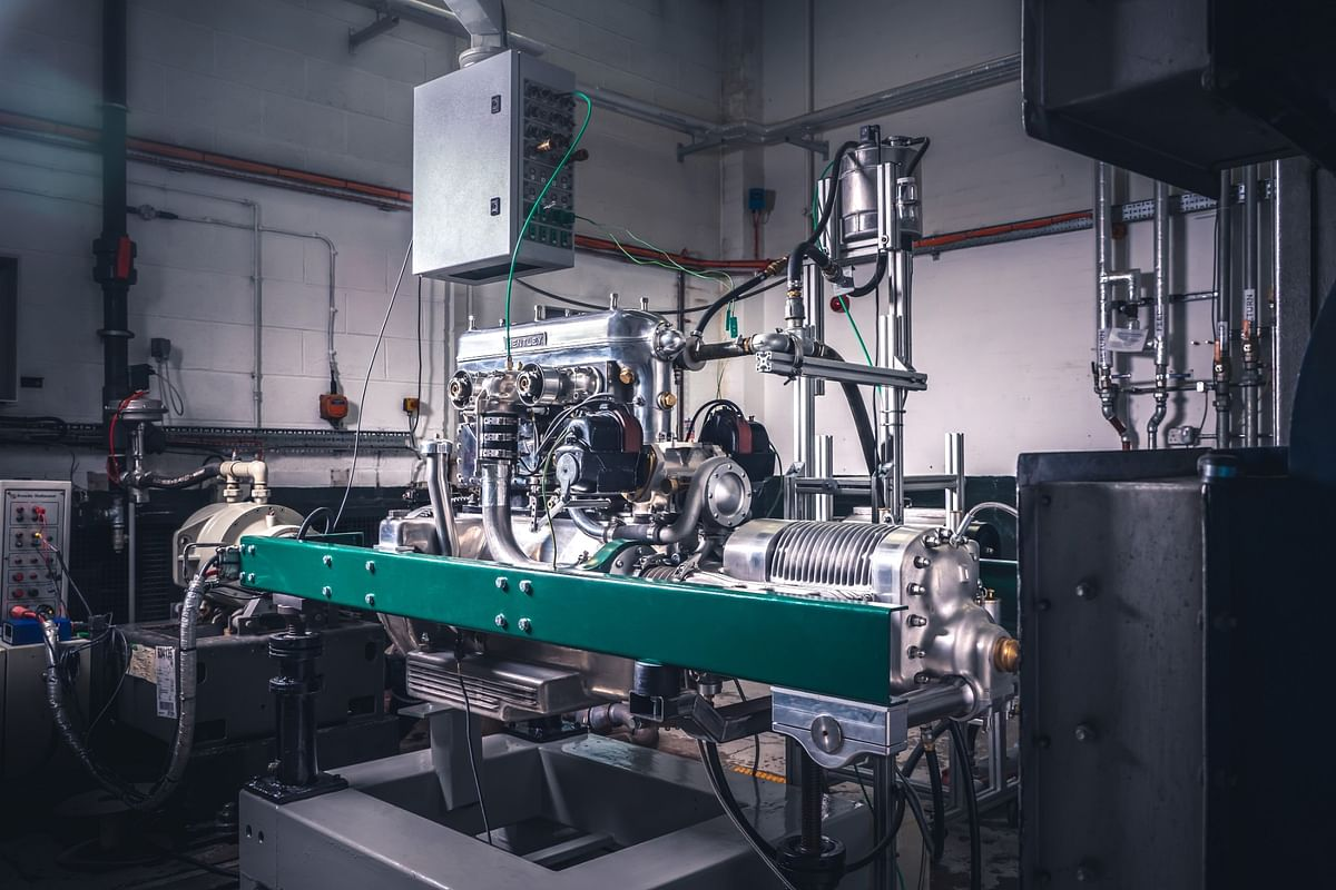 After testing on the dyno, the engine will be installed in a specially built chassis for rigorous testing on track