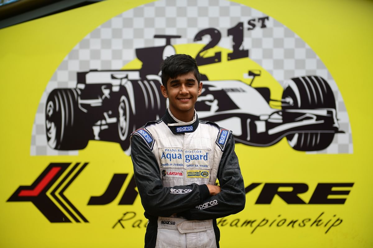 The French Formula 4 Championship won't really be too big a challenge for the 18-year-old racer
