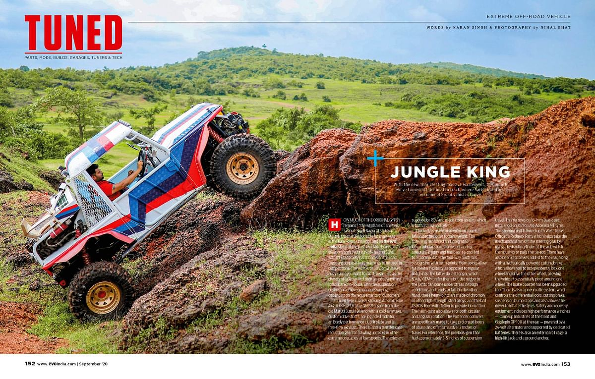 Sarbloh Motors has a hand in some of the wildest off-roaders in the country