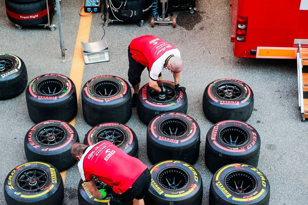 Drivers and teams get to pick what sets of tyres they want to take to each race weekend