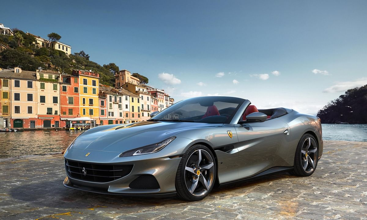 The Ferrari Portofino M gets a slightly revised bumper to set itself apart aesthetically