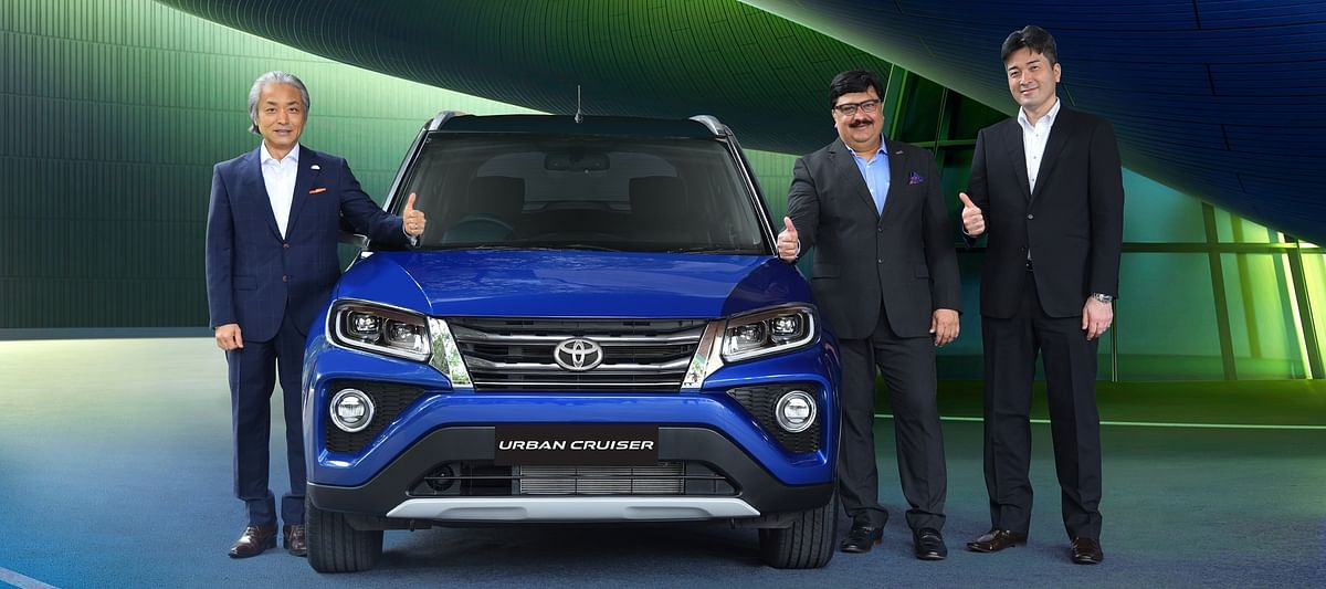 Toyota launches the Urban Cruiser at Rs 8.4 lakh