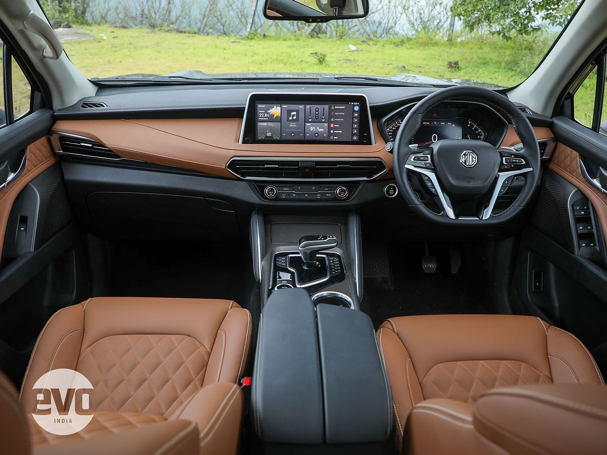 The Gloster's interiors feel rich and well put together
