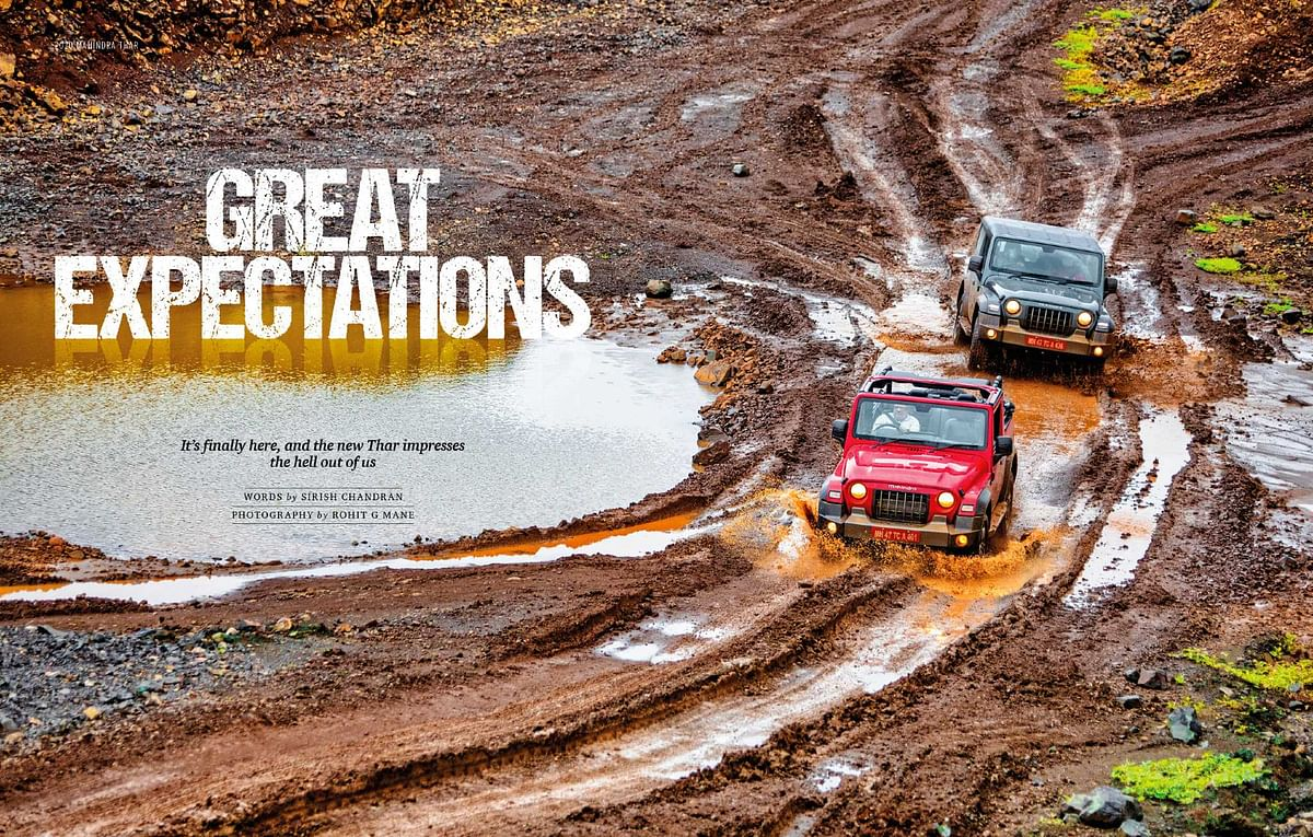 The most comprehensive off-road review of the new Thar you will find