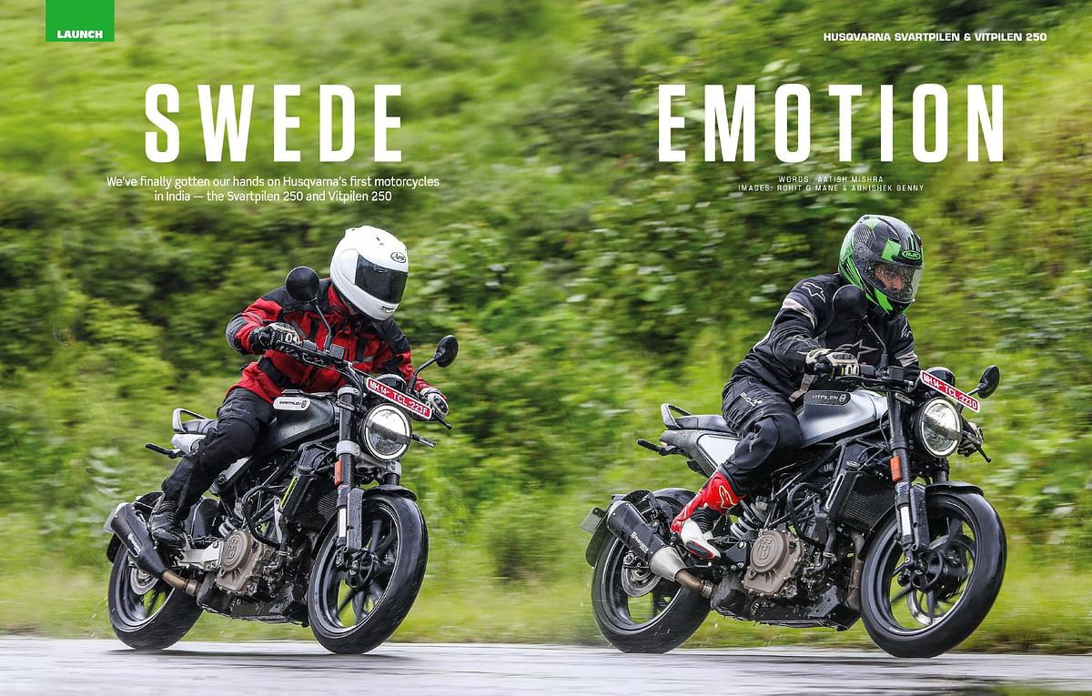 Husqvarna Vitpilen and Svartpilen 250 take the performance we love from the Duke, and repackage it in to two extremely desirable packages