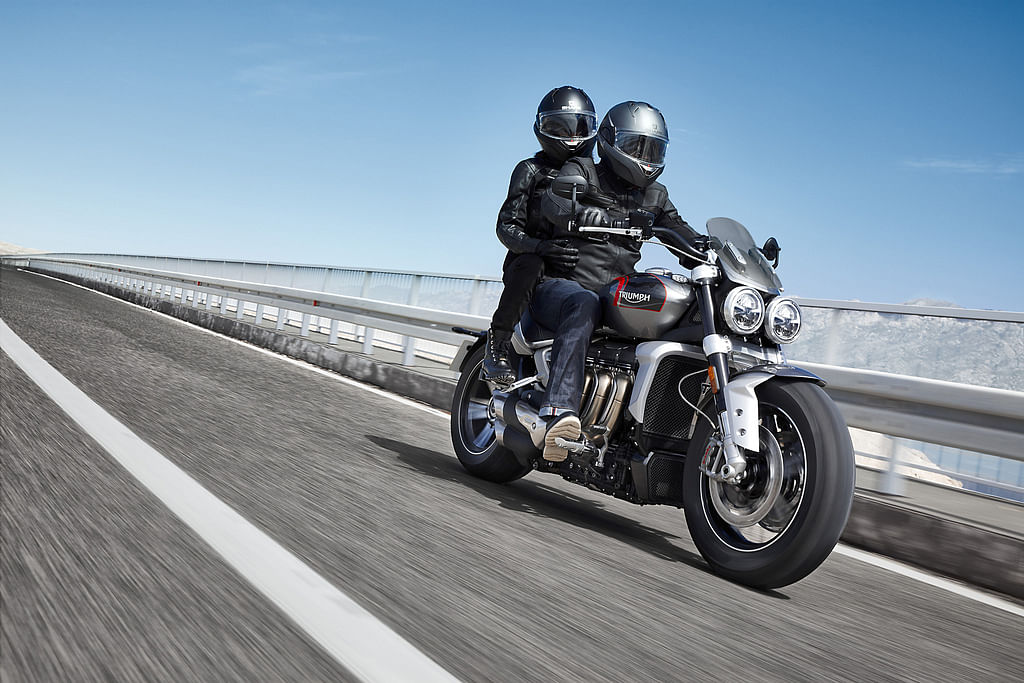 The Rocket 3 GT is a touring-based variant of Triumph's Rocket model range