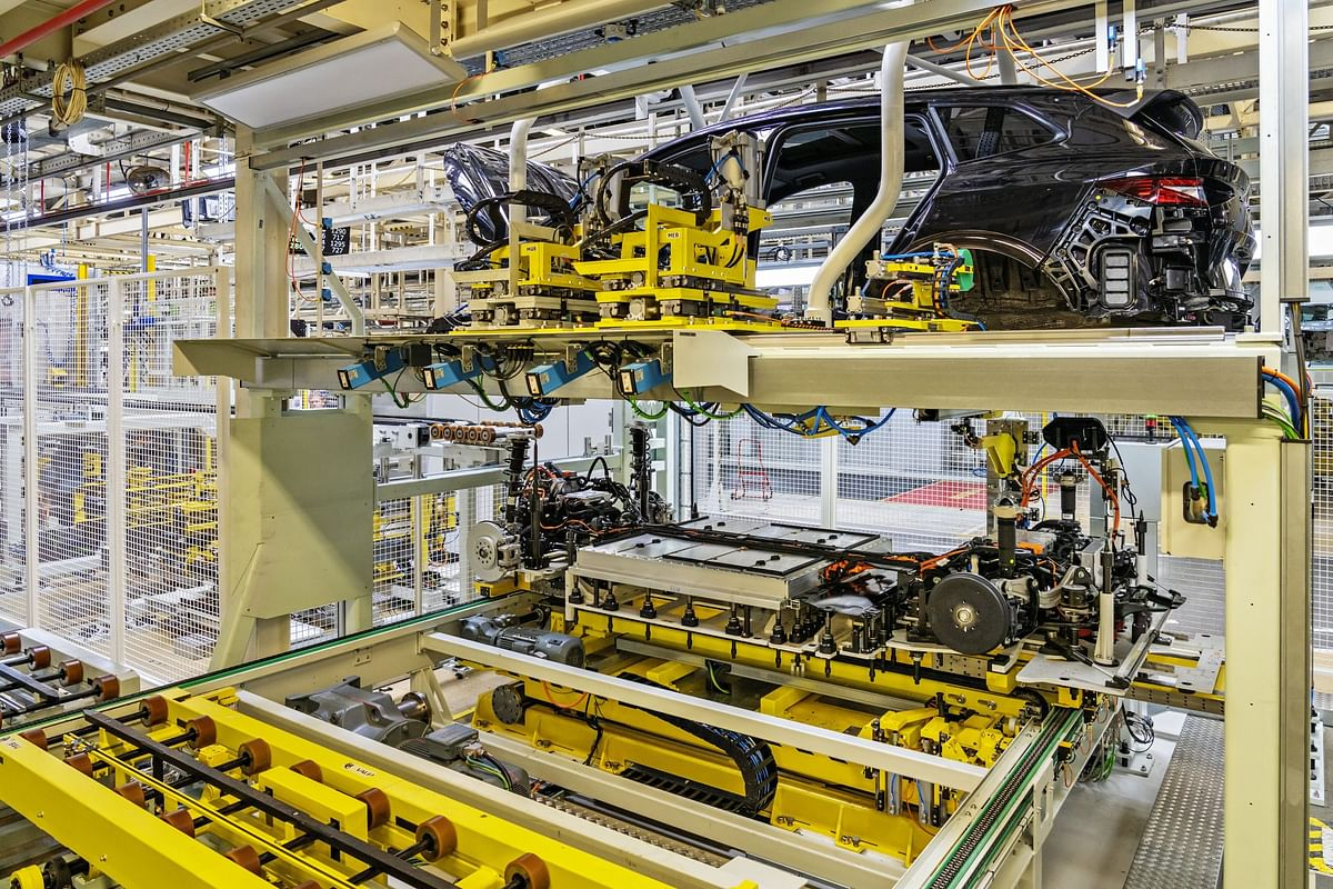 The Enyaq iV is already hitting production lines in Mladá Boleslav